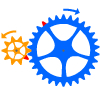 Tandwiel- en kettingoverbrenging