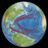 Interactive Earth: Oceanic currents
